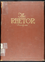 Page 1, 1921 Edition, University of Central Missouri - Rhetor Yearbook (Warrensburg, MO) online yearbook collection