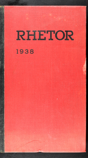 University of Central Missouri - Rhetor Yearbook (Warrensburg, MO) online yearbook collection, 1938 Edition, Page 1