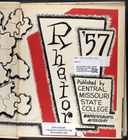 Page 3, 1957 Edition, University of Central Missouri - Rhetor Yearbook (Warrensburg, MO) online yearbook collection