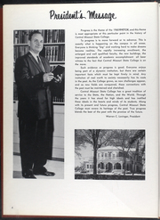 Page 8, 1960 Edition, University of Central Missouri - Rhetor Yearbook (Warrensburg, MO) online yearbook collection