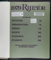 Page 5, 1979 Edition, University of Central Missouri - Rhetor Yearbook (Warrensburg, MO) online yearbook collection