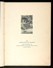 Page 7, 1931 Edition, Southwest Baptist University - Mozarkian Yearbook (Bolivar, MO) online yearbook collection