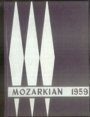 1959 Edition, Southwest Baptist University - Mozarkian Yearbook (Bolivar, MO)