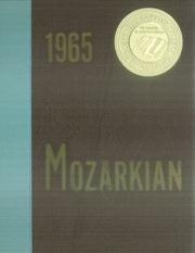 1965 Edition, Southwest Baptist University - Mozarkian Yearbook (Bolivar, MO)