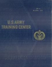 Page 1, 1976 Edition, US Army Training Center - Yearbook (Fort Leonard Wood, MO) online yearbook collection