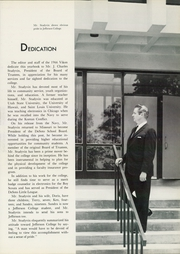 Page 7, 1966 Edition, Jefferson College - Vikon Yearbook (Hillsboro, MO) online yearbook collection