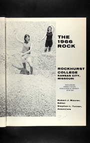 Page 7, 1966 Edition, Rockhurst University - Rock Yearbook (Kansas City, MO) online yearbook collection