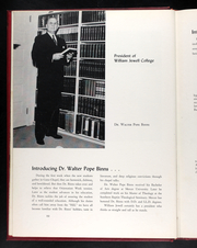 Page 16, 1958 Edition, William Jewell College - Tatler Yearbook (Liberty, MO) online yearbook collection