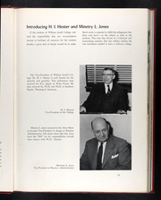Page 17, 1958 Edition, William Jewell College - Tatler Yearbook (Liberty, MO) online yearbook collection