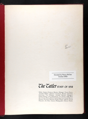 Page 5, 1958 Edition, William Jewell College - Tatler Yearbook (Liberty, MO) online yearbook collection