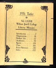 Page 5, 1976 Edition, William Jewell College - Tatler Yearbook (Liberty, MO) online yearbook collection
