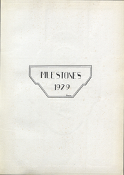 Page 3, 1929 Edition, Culver Stockton College - Milestones Yearbook (Canton, MO) online yearbook collection
