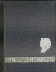 1939 Edition, Culver Stockton College - Milestones Yearbook (Canton, MO)