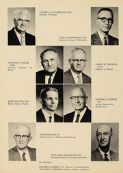 Page 10, 1961 Edition, Culver Stockton College - Milestones Yearbook (Canton, MO) online yearbook collection