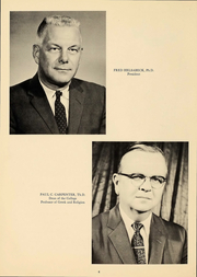 Page 6, 1961 Edition, Culver Stockton College - Milestones Yearbook (Canton, MO) online yearbook collection