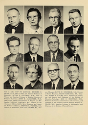 Page 7, 1961 Edition, Culver Stockton College - Milestones Yearbook (Canton, MO) online yearbook collection