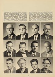Page 8, 1961 Edition, Culver Stockton College - Milestones Yearbook (Canton, MO) online yearbook collection