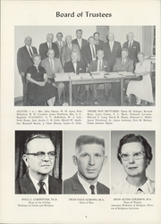 Page 10, 1962 Edition, Culver Stockton College - Milestones Yearbook (Canton, MO) online yearbook collection