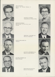 Page 11, 1962 Edition, Culver Stockton College - Milestones Yearbook (Canton, MO) online yearbook collection