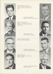Page 14, 1962 Edition, Culver Stockton College - Milestones Yearbook (Canton, MO) online yearbook collection