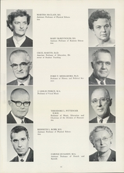 Page 15, 1962 Edition, Culver Stockton College - Milestones Yearbook (Canton, MO) online yearbook collection