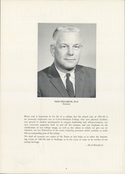 Page 8, 1962 Edition, Culver Stockton College - Milestones Yearbook (Canton, MO) online yearbook collection