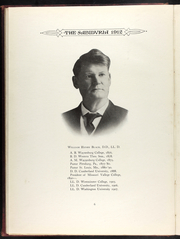 Page 16, 1912 Edition, Missouri Valley College - Sabiduria Yearbook (Marshall, MO) online yearbook collection