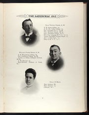 Page 17, 1912 Edition, Missouri Valley College - Sabiduria Yearbook (Marshall, MO) online yearbook collection