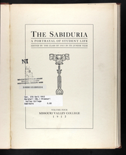 Page 9, 1912 Edition, Missouri Valley College - Sabiduria Yearbook (Marshall, MO) online yearbook collection