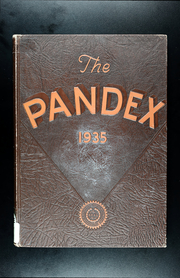 Page 1, 1935 Edition, Kansas City School of Law - Pandex Yearbook (Kansas City, MO) online yearbook collection