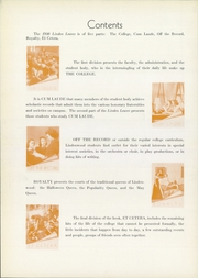 Page 12, 1940 Edition, Lindenwood University - Linden Leaves Yearbook (St Charles, MO) online yearbook collection