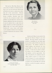 Page 17, 1940 Edition, Lindenwood University - Linden Leaves Yearbook (St Charles, MO) online yearbook collection