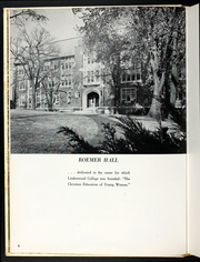 Page 10, 1958 Edition, Lindenwood University - Linden Leaves Yearbook (St Charles, MO) online yearbook collection