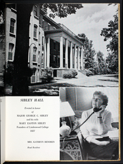 Page 17, 1958 Edition, Lindenwood University - Linden Leaves Yearbook (St Charles, MO) online yearbook collection