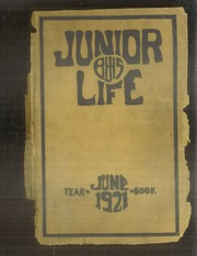 1921 Edition, Ben Blewett Junior High School - Junior Life Yearbook (St Louis, MO)