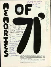 Page 7, 1971 Edition, Center South Junior High School - Kachina Yearbook (Kansas City, MO) online yearbook collection