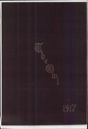 1917 Edition, Missouri Wesleyan College - Owl Yearbook (Cameron, MO)