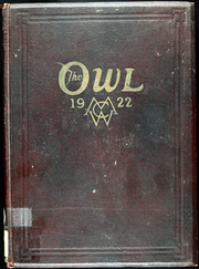 1922 Edition, Missouri Wesleyan College - Owl Yearbook (Cameron, MO)