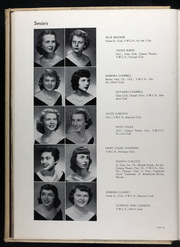 Page 16, 1950 Edition, William Woods University - Echoes Yearbook (Fulton, MO) online yearbook collection