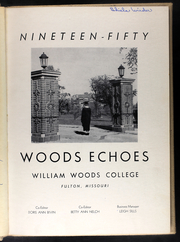 Page 5, 1950 Edition, William Woods University - Echoes Yearbook (Fulton, MO) online yearbook collection