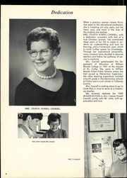 Page 12, 1969 Edition, William Woods University - Echoes Yearbook (Fulton, MO) online yearbook collection