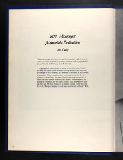 Page 8, 1977 Edition, Ozark Bible College - Messenger Yearbook (Joplin, MO) online yearbook collection