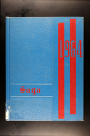 1964 Edition, Center North Junior High School - Saga Yearbook (Kansas City, MO)