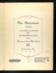 Page 7, 1926 Edition, Northeast Junior High School - Buccaneer Yearbook (Kansas City, MO) online yearbook collection