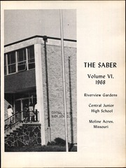 Page 5, 1968 Edition, Central Junior High School - Saber Yearbook (Moline Acres, MO) online yearbook collection