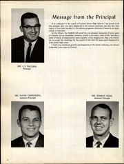 Page 8, 1968 Edition, Central Junior High School - Saber Yearbook (Moline Acres, MO) online yearbook collection