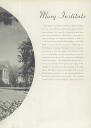 Page 13, 1943 Edition, Mary Institute - Chronicle Yearbook (St Louis, MO) online yearbook collection
