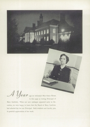 Page 15, 1943 Edition, Mary Institute - Chronicle Yearbook (St Louis, MO) online yearbook collection
