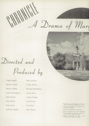 Page 6, 1943 Edition, Mary Institute - Chronicle Yearbook (St Louis, MO) online yearbook collection