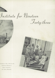Page 7, 1943 Edition, Mary Institute - Chronicle Yearbook (St Louis, MO) online yearbook collection